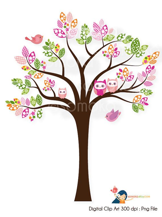 Tree clipart baby shower #7