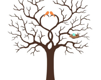 Tree clipart baby shower #5
