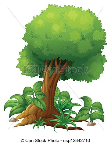 Tree clipart big tree #10