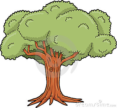 Tree clipart big tree #9
