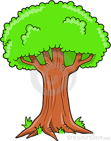 Tree clipart big tree #6