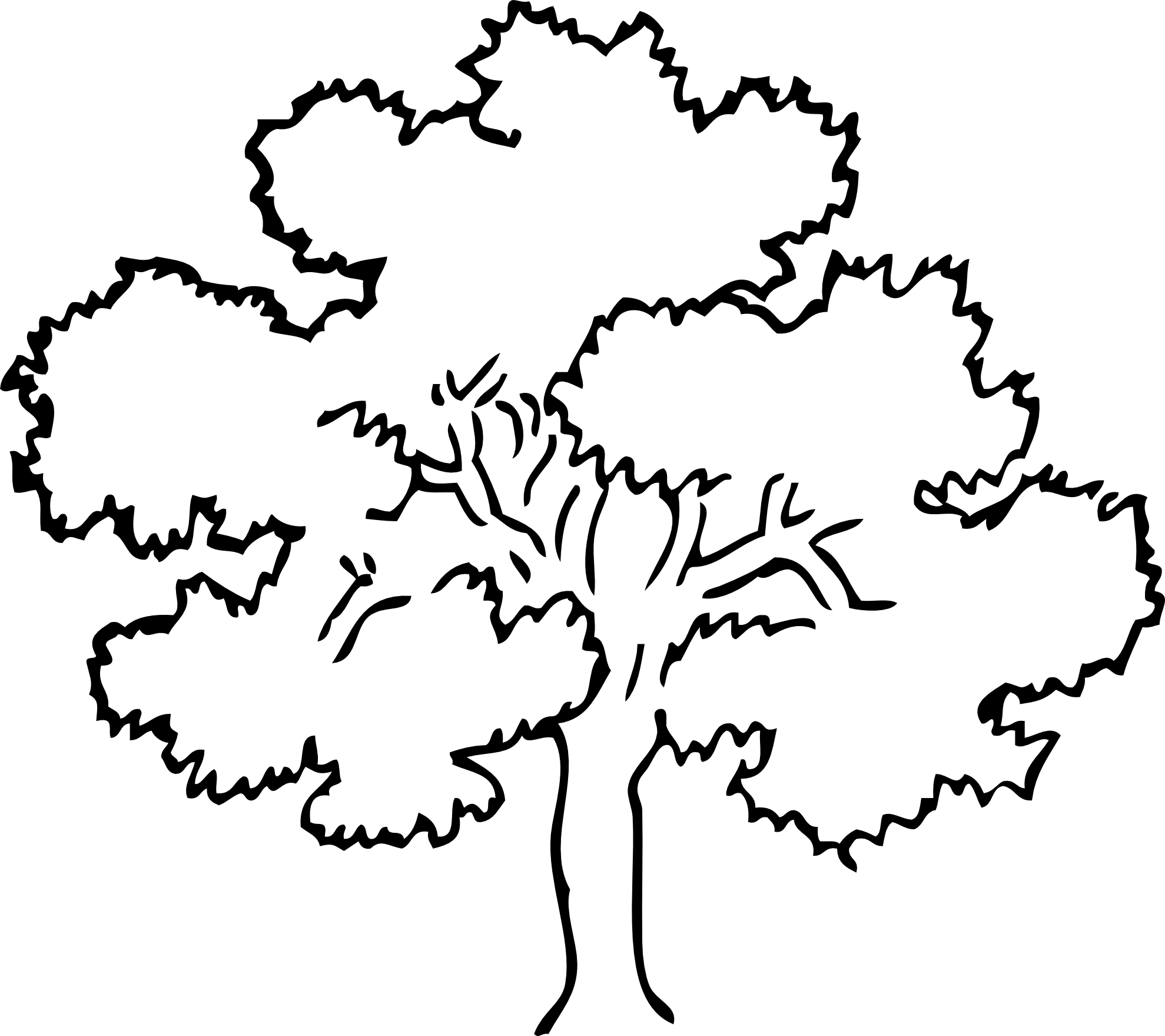 Mango clipart apple Clipart Black  Tree Apple