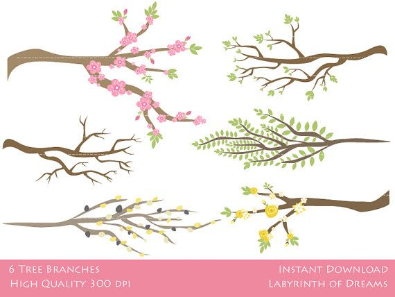 Tree clipart branch a #15