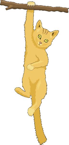 Tree clipart cat #6