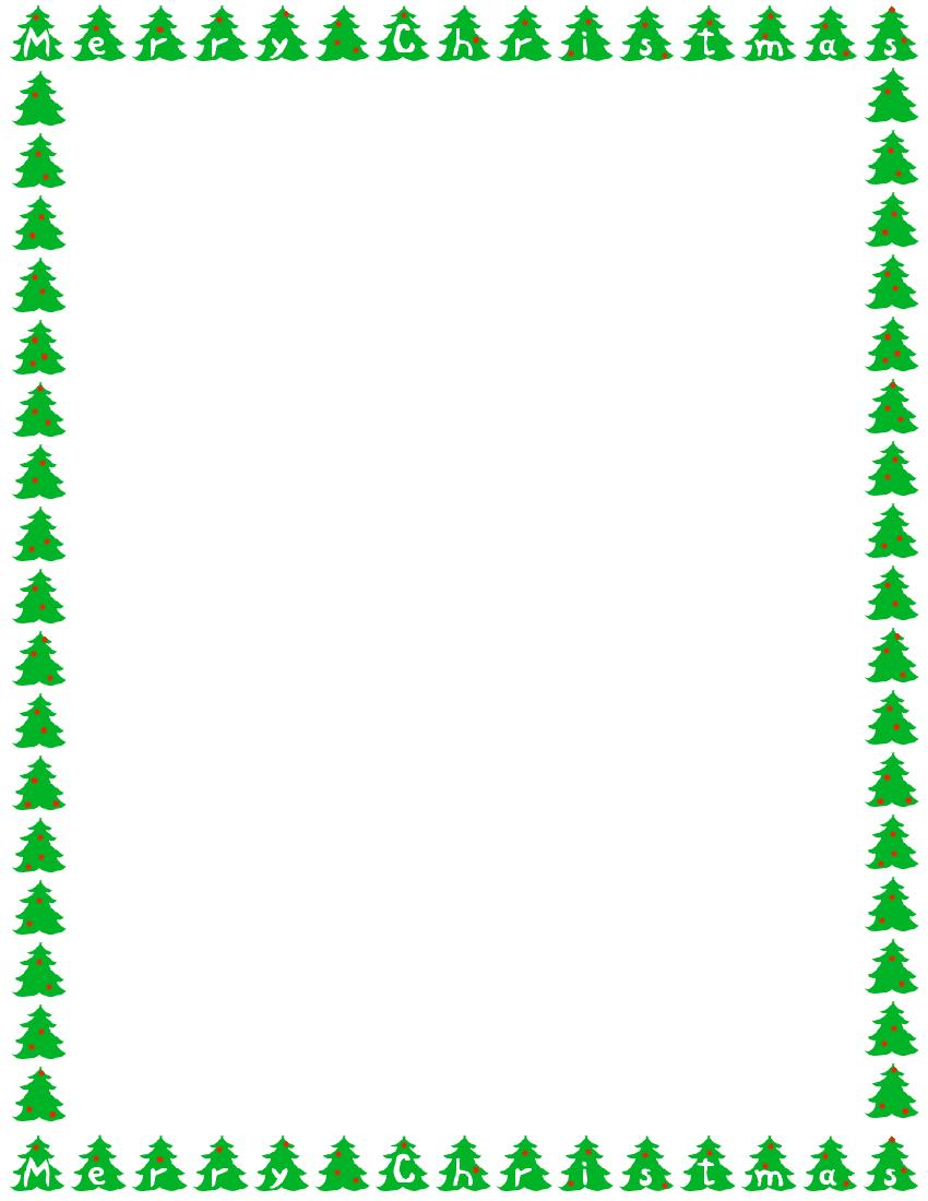Tree clipart frame #12