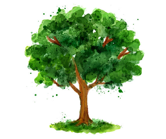 Tree clipart high resolution PatternPaperShop High N45 Resolution Studio