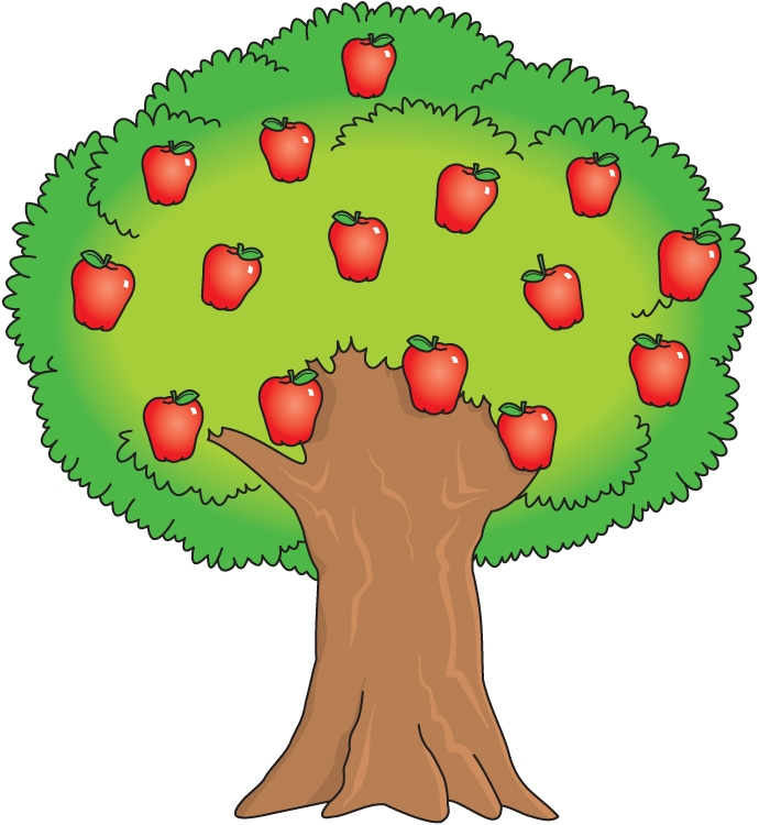 Mango clipart apple Clipart bearing Fruit tree