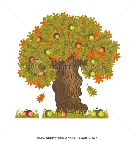 Tree clipart oak tree Oak Oak With Clip collection