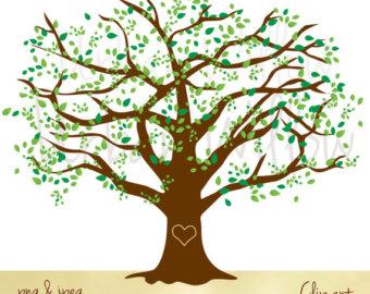 Tree clipart oak tree Oak Oak clip Etsy collection
