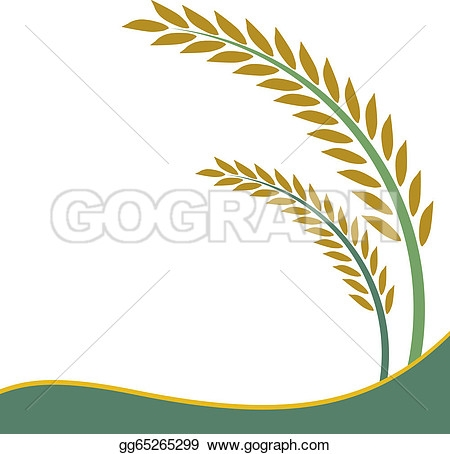 Rice clipart tree Rice Clipart Plant And Black