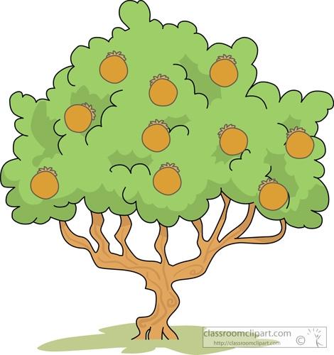 Tree clipart santol #4