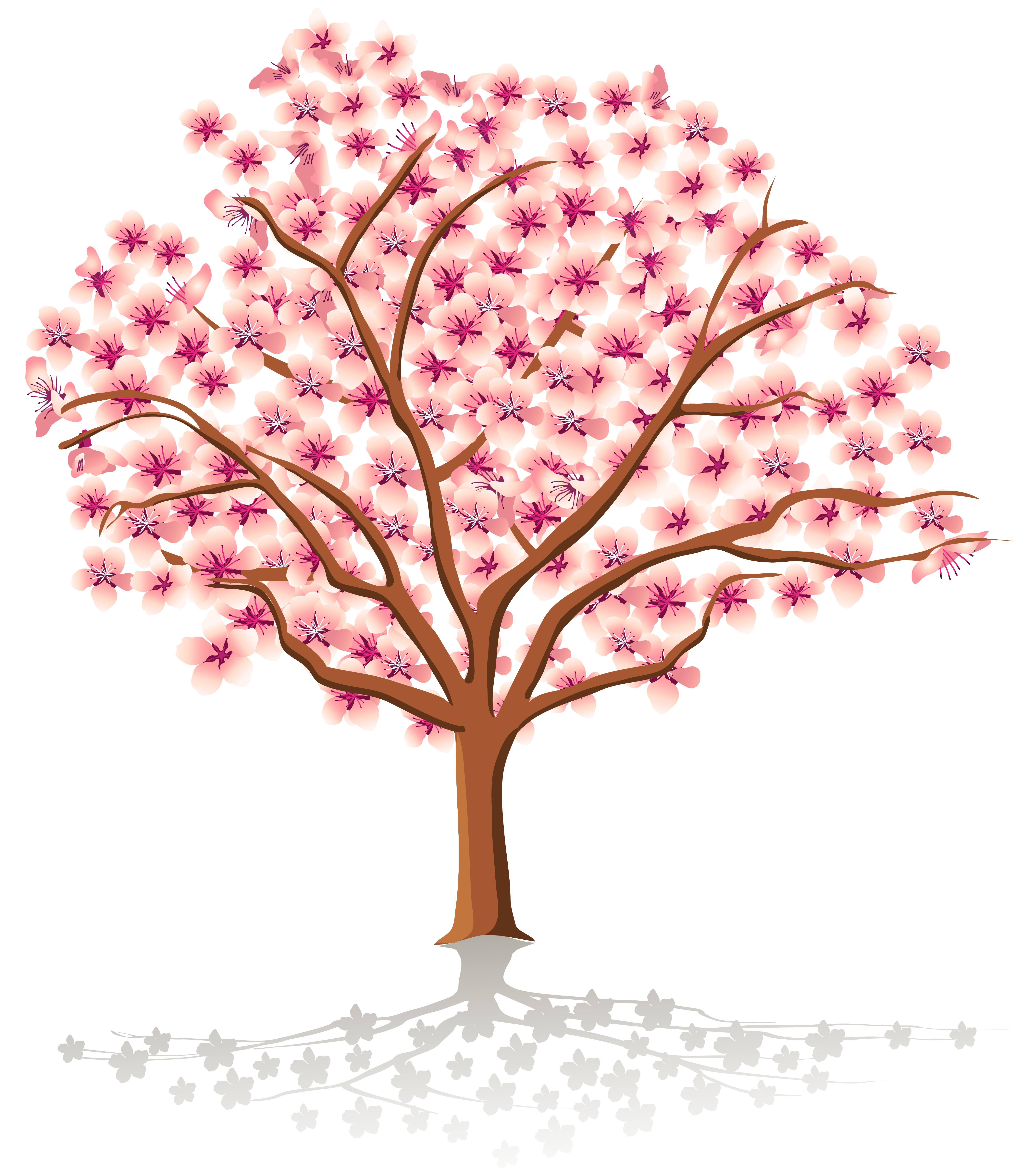 Cherry Tree clipart spring bird Spring free collection clipart Tree