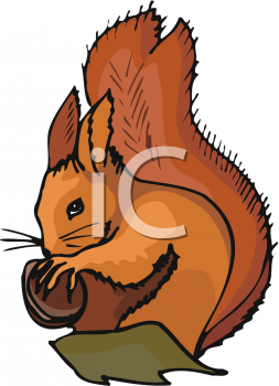 Tree clipart squirrel #14