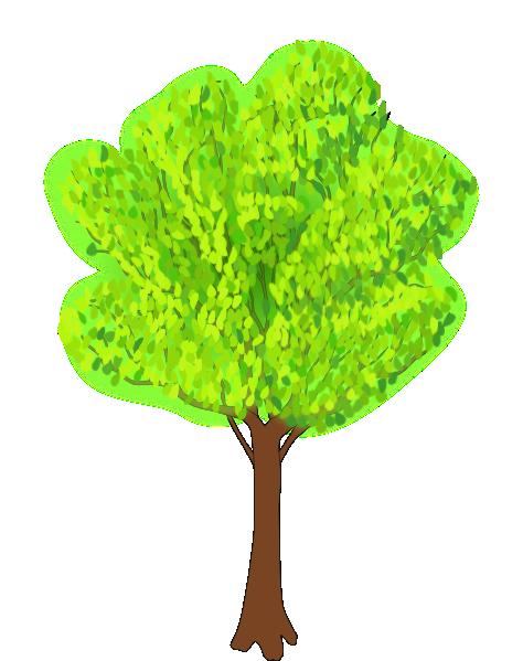 Season clipart summer tree #6