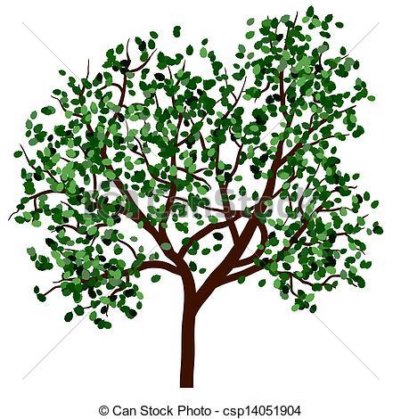 Season clipart summer tree #5
