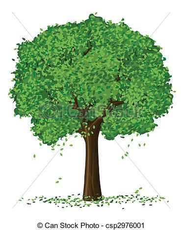 Season clipart summer tree #3