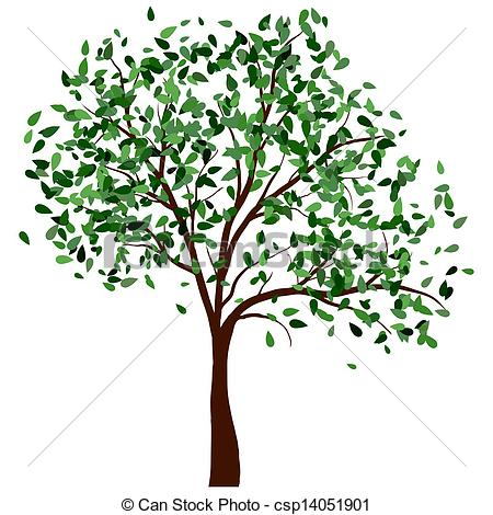 Season clipart summer tree #7