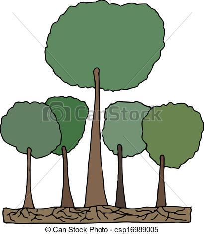 Tree clipart tall #12