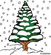 Winter clipart winter tree Pine Clipart Images  Winter