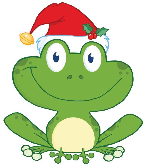 Tree Frog clipart christmas #9