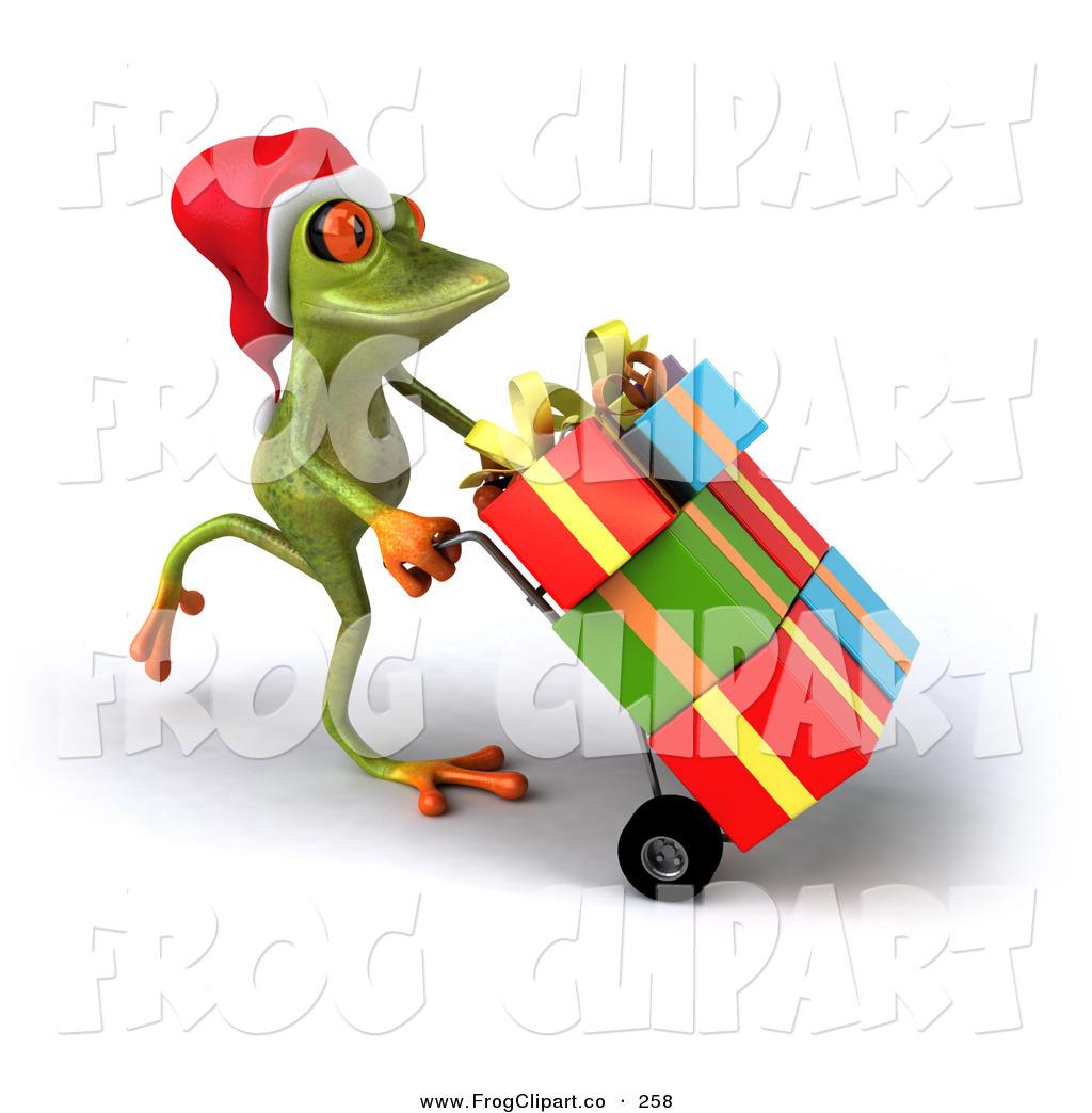 Tree Frog clipart christmas #6