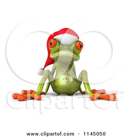 Tree Frog clipart christmas #7