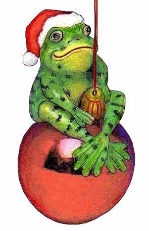 Tree Frog clipart christmas #5