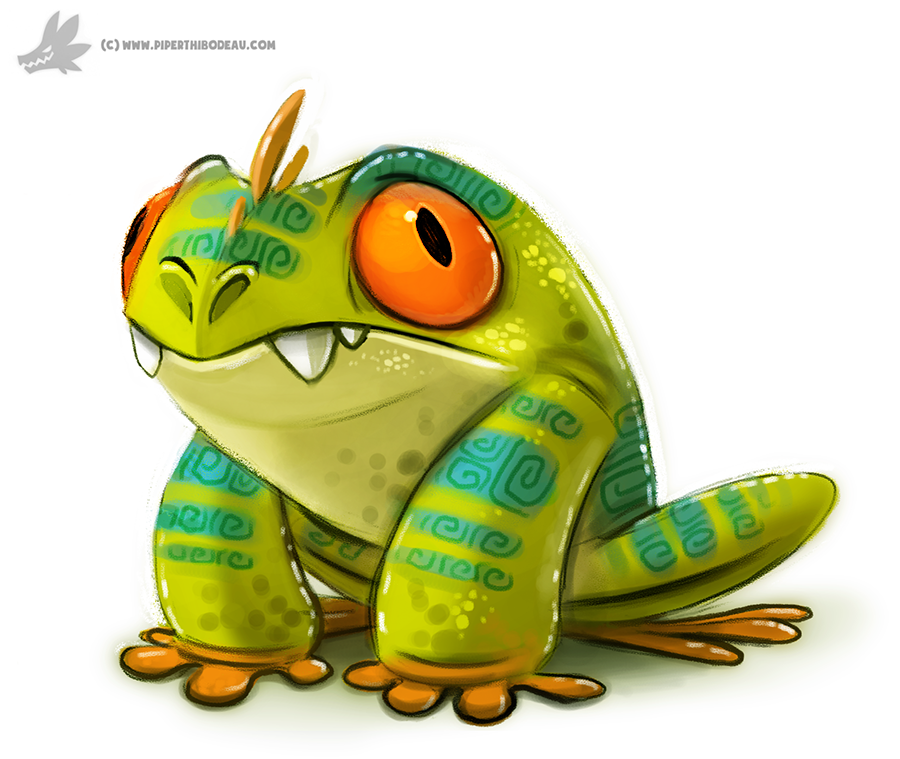 Tree Frog clipart creature #6