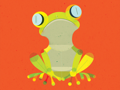 Tree Frog clipart creature #8