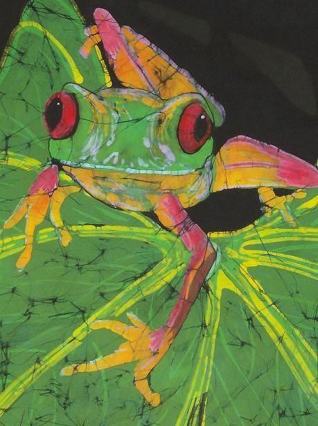 Tree Frog clipart rainforest habitat #9