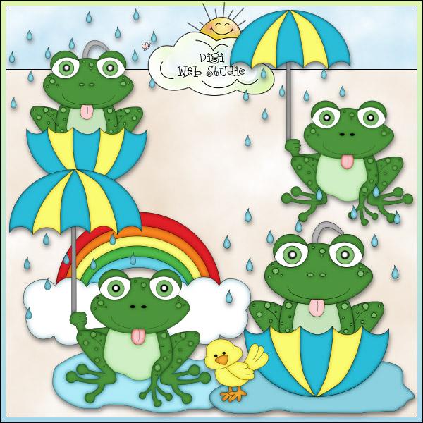 Tree Frog clipart rainy #14