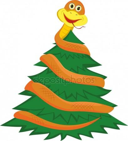 Tree Python clipart happy #7