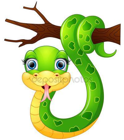 Tree Python clipart happy #2