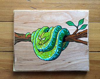 Tree Python clipart jungle #5