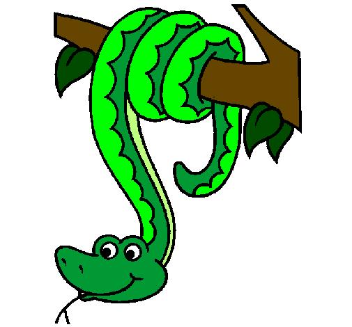 Tree Snake clipart Clipart snake tree Tree Clipart