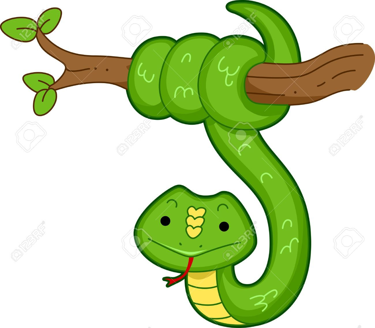 Tree Snake clipart Clipart snake in Tree Snake