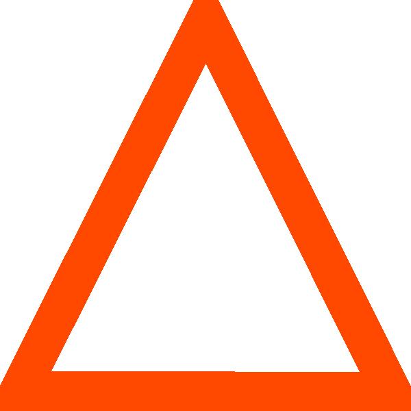 Triangle clipart Black Outline Art Triangle Triangle