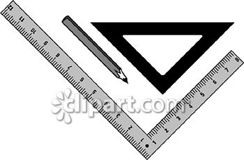 Architecture clipart ruler Drafting cut
