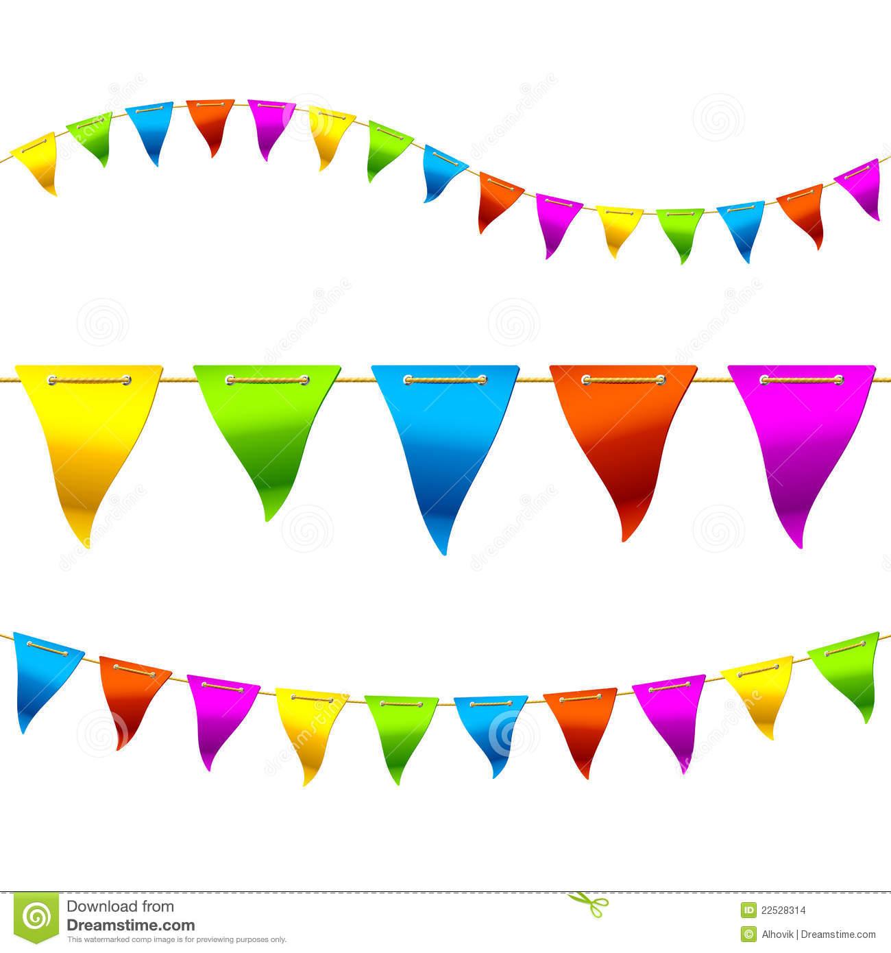 Carneval clipart banderitas Clipart Clipart Panda Flag Clipart