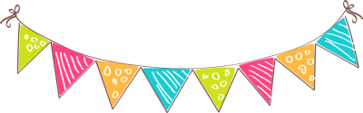 Triangle clipart celebration banner Clipart Banner Party Banner Free