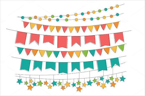 Triangle clipart celebration banner Example Template Triangle Sample Free