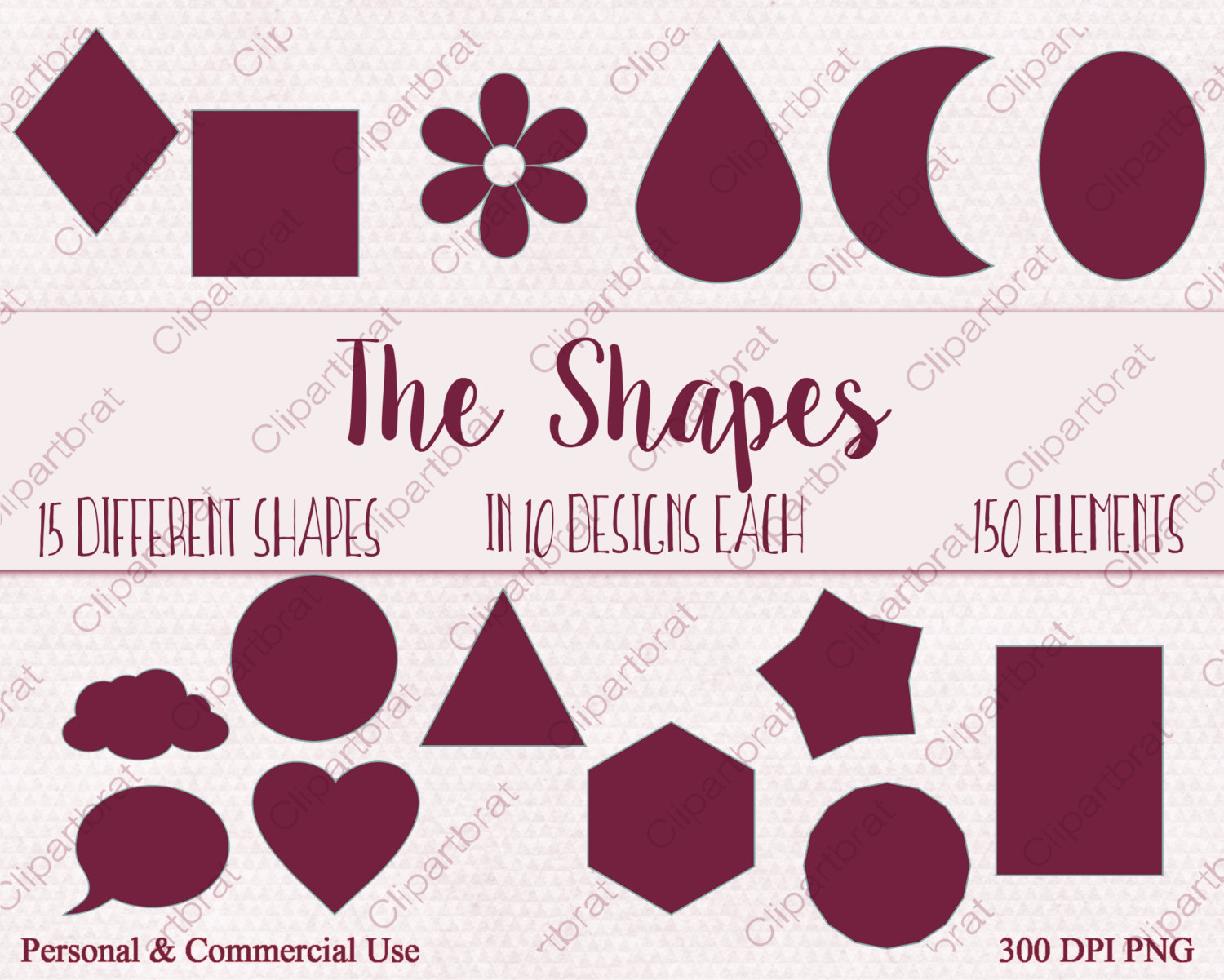 Triangle clipart different shape CLIPART This Art Coral is