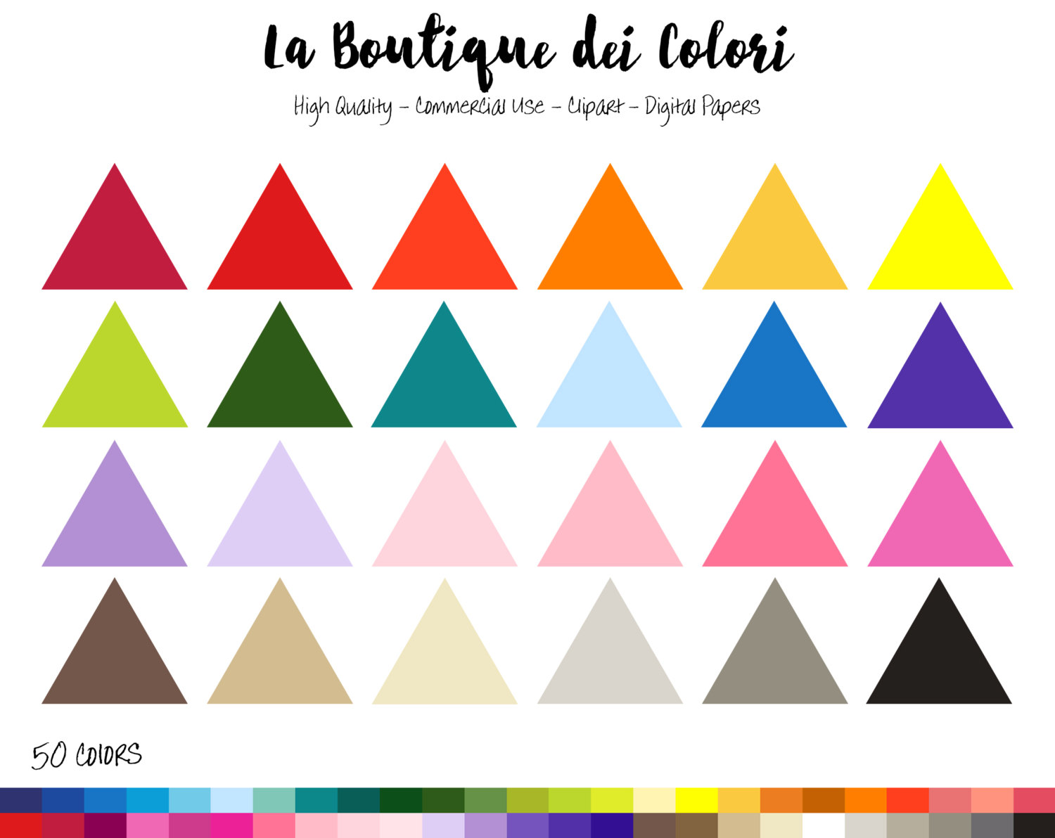 Triangle clipart item Banners Triangle  Clip color