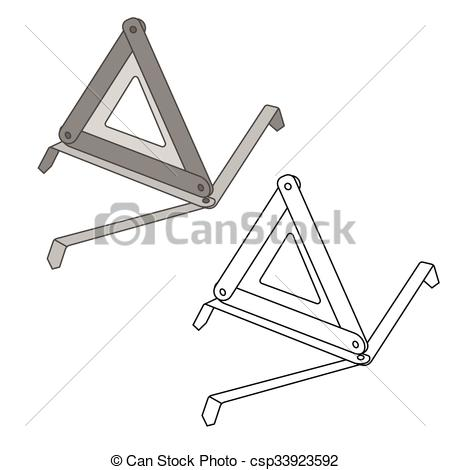 Triangle clipart item  item triangle EPS warning