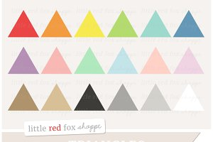 Triangle clipart item Creative Clipart Triangle Illustrations Circle