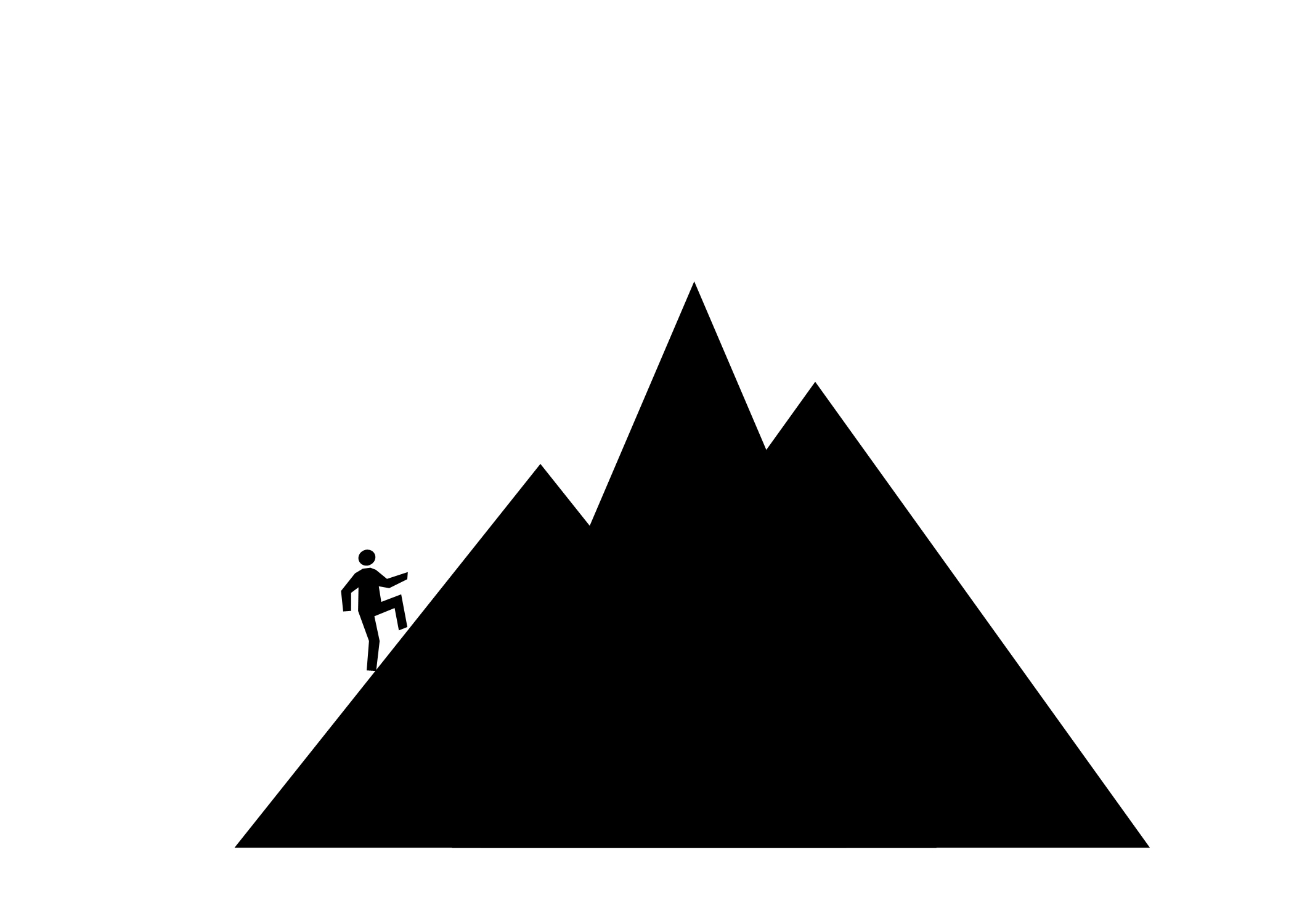 Triangle clipart mountain Janey's Clipart Mountain Pinterest Classroom