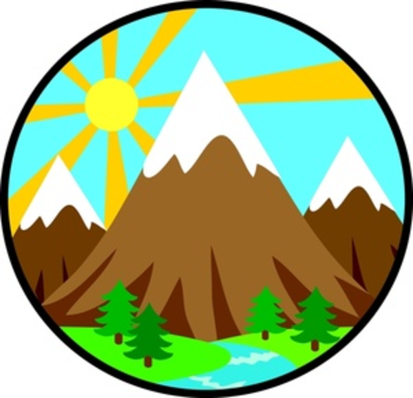 Triangle clipart mountain Clip The To com as: