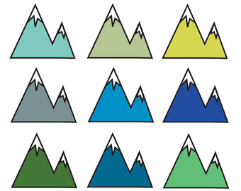 Triangle clipart mountain Free Art Images Clip Clipart