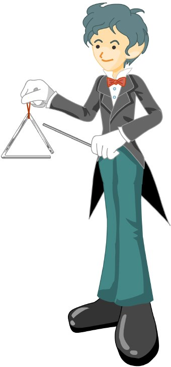 Triangle clipart musical Ronweatilpost: percussionist clipart music a