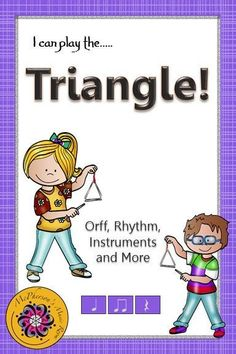 Triangle clipart orff instruments Play Back Instruments Lesson and